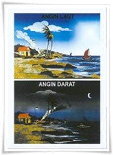 Jenis-jenis Angin di Indonesia