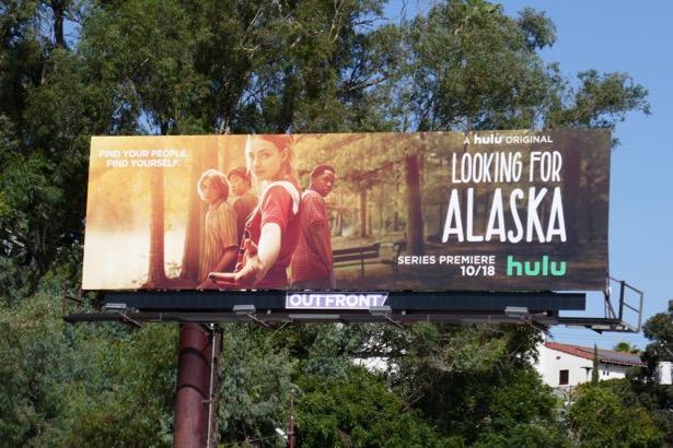 Looking For Alaska series premiere billboard
