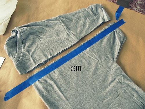 Mens Cut Up Jeans