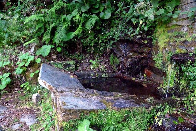 Fuente cerca de Esquíos - Taramundi