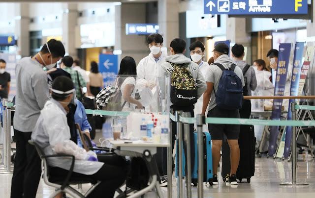 Korea Mengkonfirmasi 45 Kasus Baru Covid-19