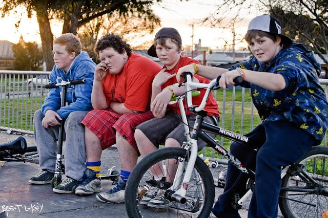'Skate Park, Main Road Ballarat' Brent Lukey 2011.
