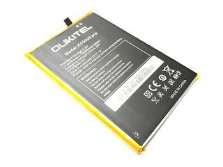Baterai Hape Oukitel K10000 Pro New Original 10000mAh
