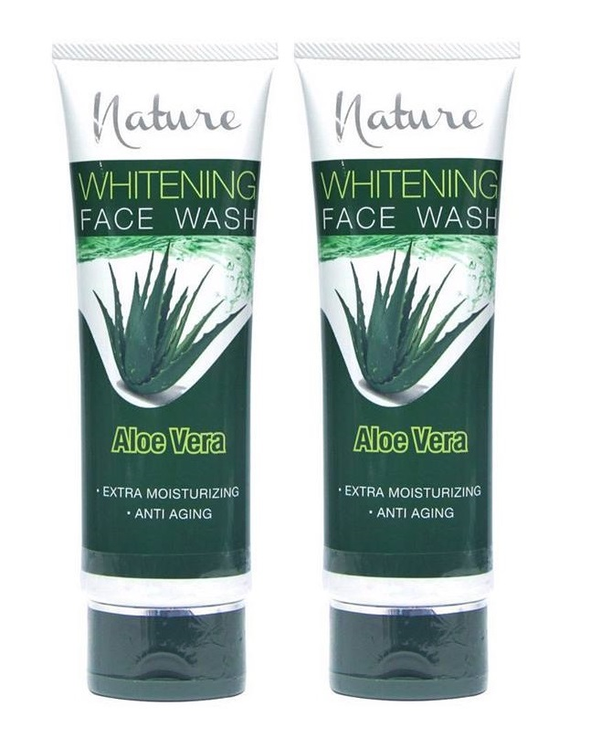 Pack Of 2 - Nature Aloe Vera Face Wash 100 ml