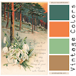 Vintage Color Palettes - All Your Way with Flowers