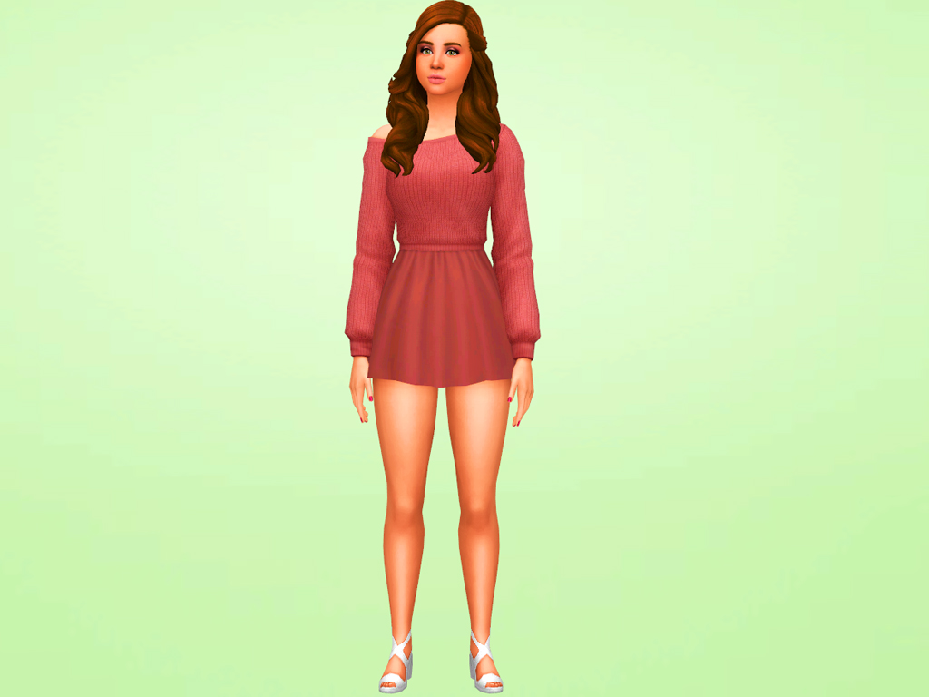 MSQ SIMS: The Sims 4 Baby Ariel MakeOver