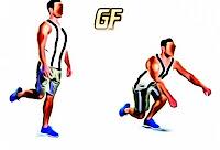 variasi gerakan squat single