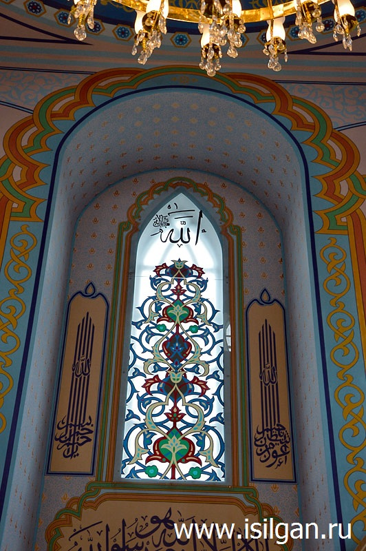 Окно мечети в Кыштыме