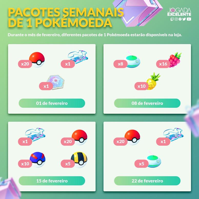 Pacote Promocional Pokémon GO