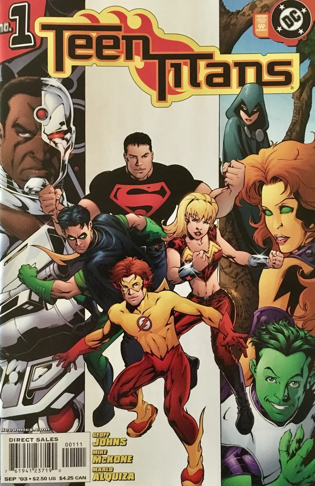 Superman Family Adventures Teen Titans