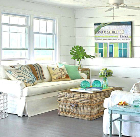 Coastal Nautical Coffee Tables Decor Ideas Shop The Look Coastal Decor Ideas Interior Design Diy Shopping