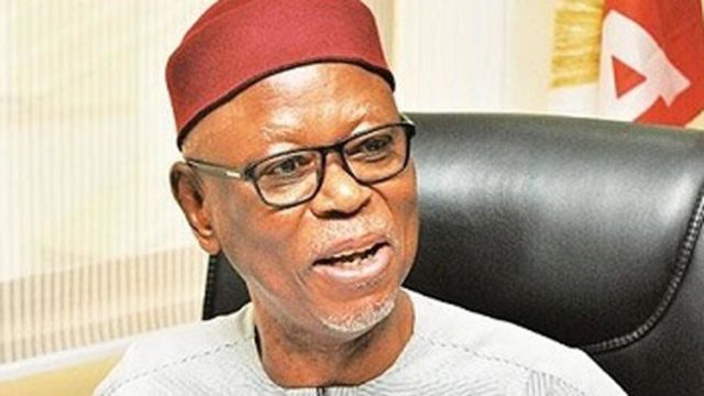 We didn't meet Nigerians' expectations on economy, APC confesses