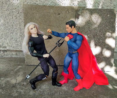Mattel Ken doll DC Superman Faraway Forest King of the Crystal Cave heroes
