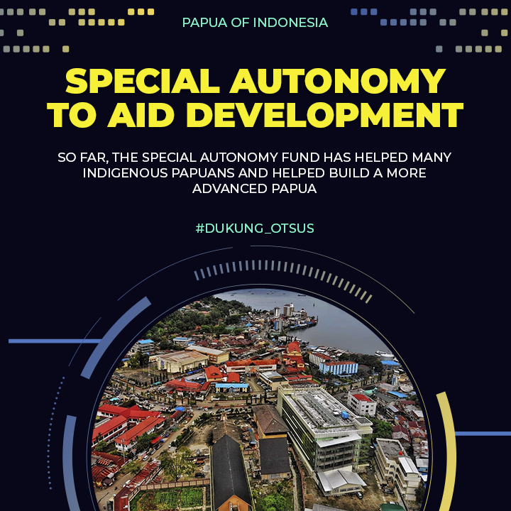 The Special Autonomy Fund Helps Development in Papua and West Papua