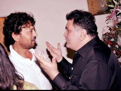 Rishi kapoo and Imran khan