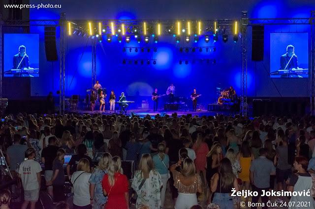 Koncert Željko Joksimović na ljetnoj pozornici u Opatiji 23.07.2021