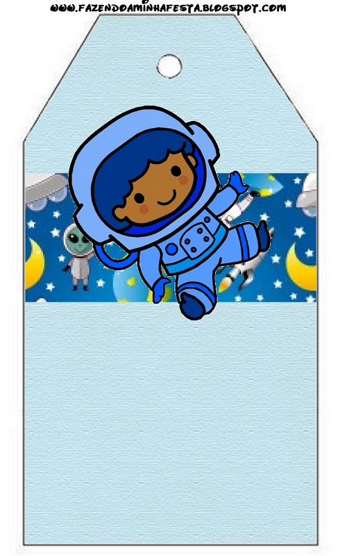 astronaut party printables - 487×800
