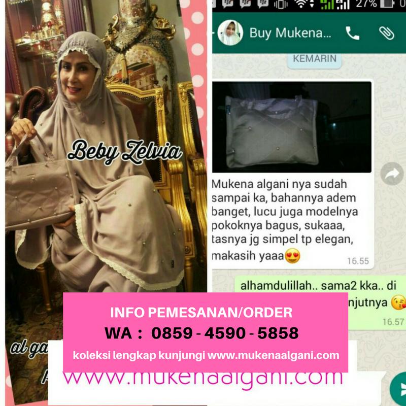 Beli Mukena Al Gani ori by yulia