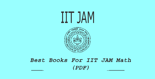 Books For IIT JAM Math