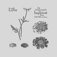 Stamping to Share: Field Flowers with Thoughts & Prayers