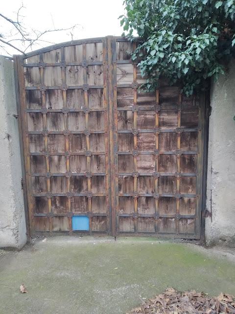 Gate, Catflap, Yambol,