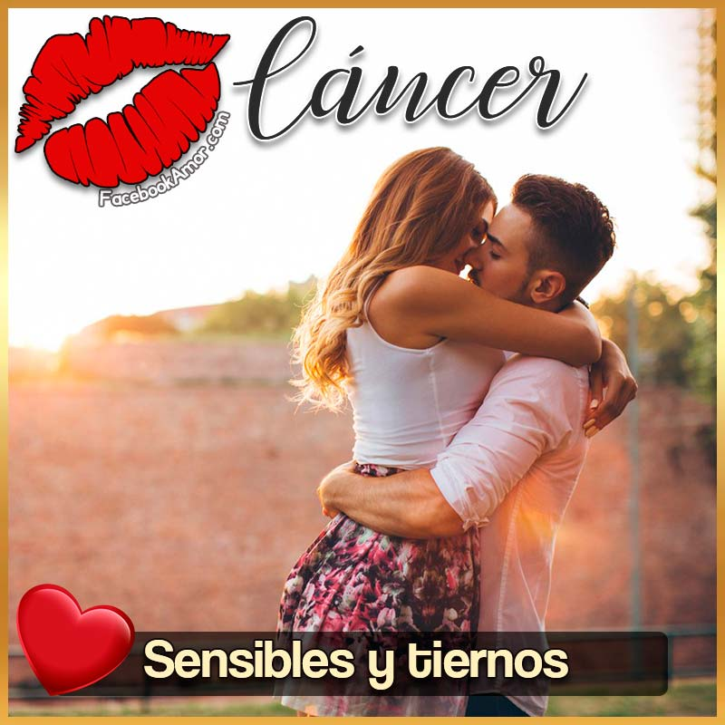 besos de signo cáncer