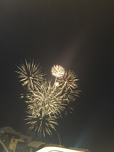 Lanzarote holiday diary part 2 firework display