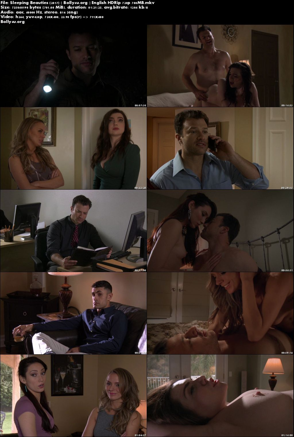 Sleeping Beauties 2017 HDRip 700Mb English Movie 720p Download