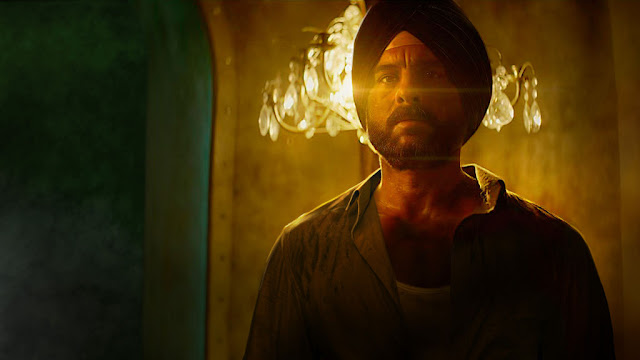 Saif Ali Khan as Sartaj Singh in the Netflix Original Series 'Sacred Games'