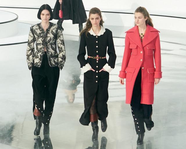 Chanel осень 2020 зима 2021 1
