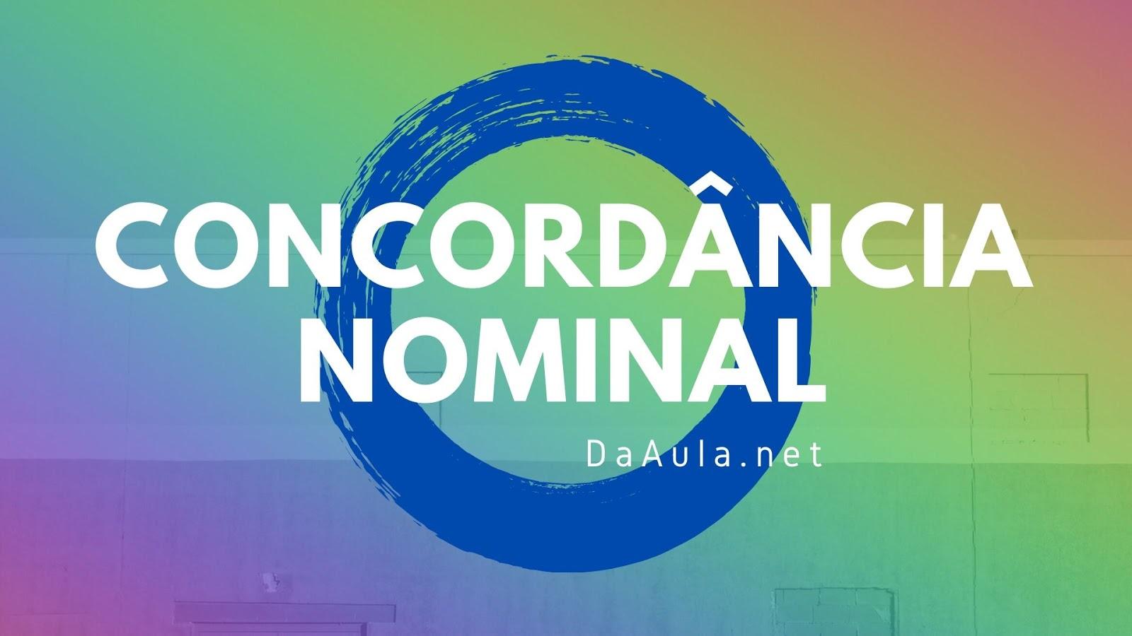Língua Portuguesa: O que é Concordância Nominal