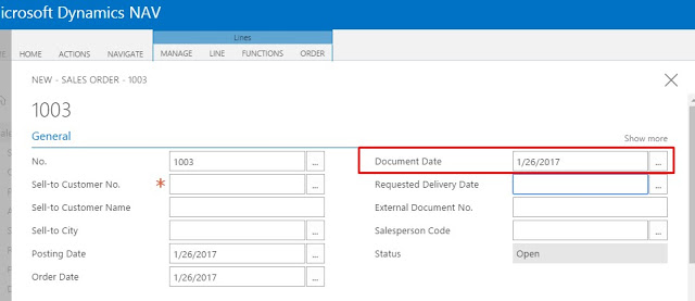 Nilesh Gajjar - Microsoft Dynamics NAV: Change the Date