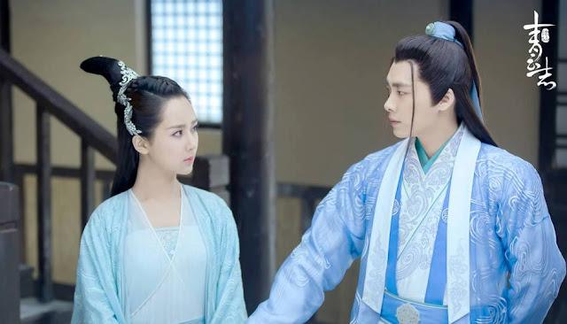 2016 fantasy wuxia Chusen starring Li Yi Feng and Yang Zi