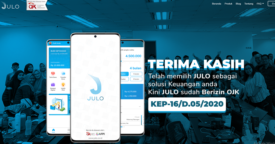 JULO-Pinjaman Online Cepat Cair Kredit Digital