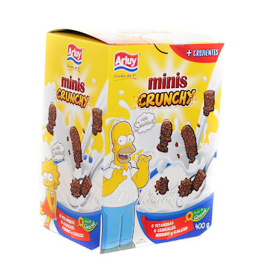 Arluy mini galletas Crunchy Simpsons