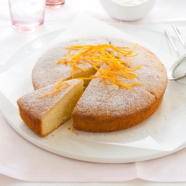 طريقة عمل الكيكة العادية بالبرتقال