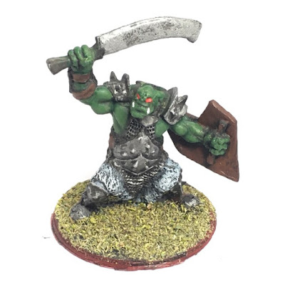 Orc Marauder, Sword and Shield (Tre Manor SKU: 77042)