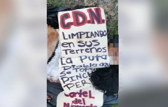 """Grupo de Sicarios del Cártel del Noreste (CDN) levantar, tortura y descuartizan a """"La Diabla"""" en Mante, Tamaulipas"""