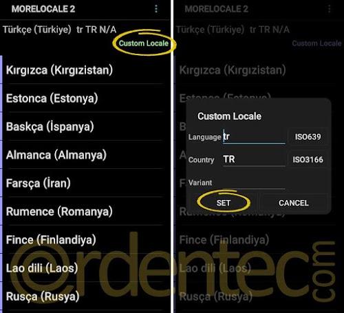 Android Telefona Türkçe Dil Ekleme