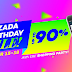 Lazada Birthday Sale Day 1 Flash Sale Schedule