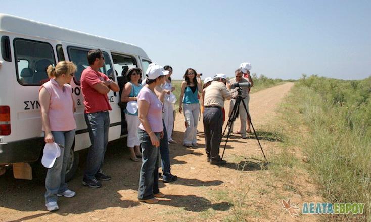 Ξεκινούν ξανά οι περιηγήσεις στο Εθνικό Πάρκο Δέλτα Έβρου