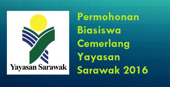 Biasiswa Cemerlang Yayasan Sarawak 2016