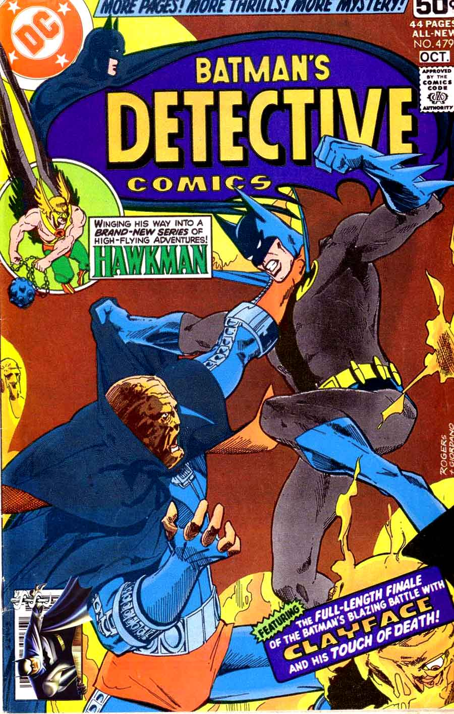 Detective Comics v1 #479 dc comic book cover art by Marshall Rogers
