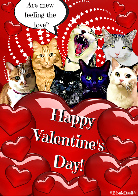 Basil & The B Team Valentine's Card 2020 ©BionicBasil®