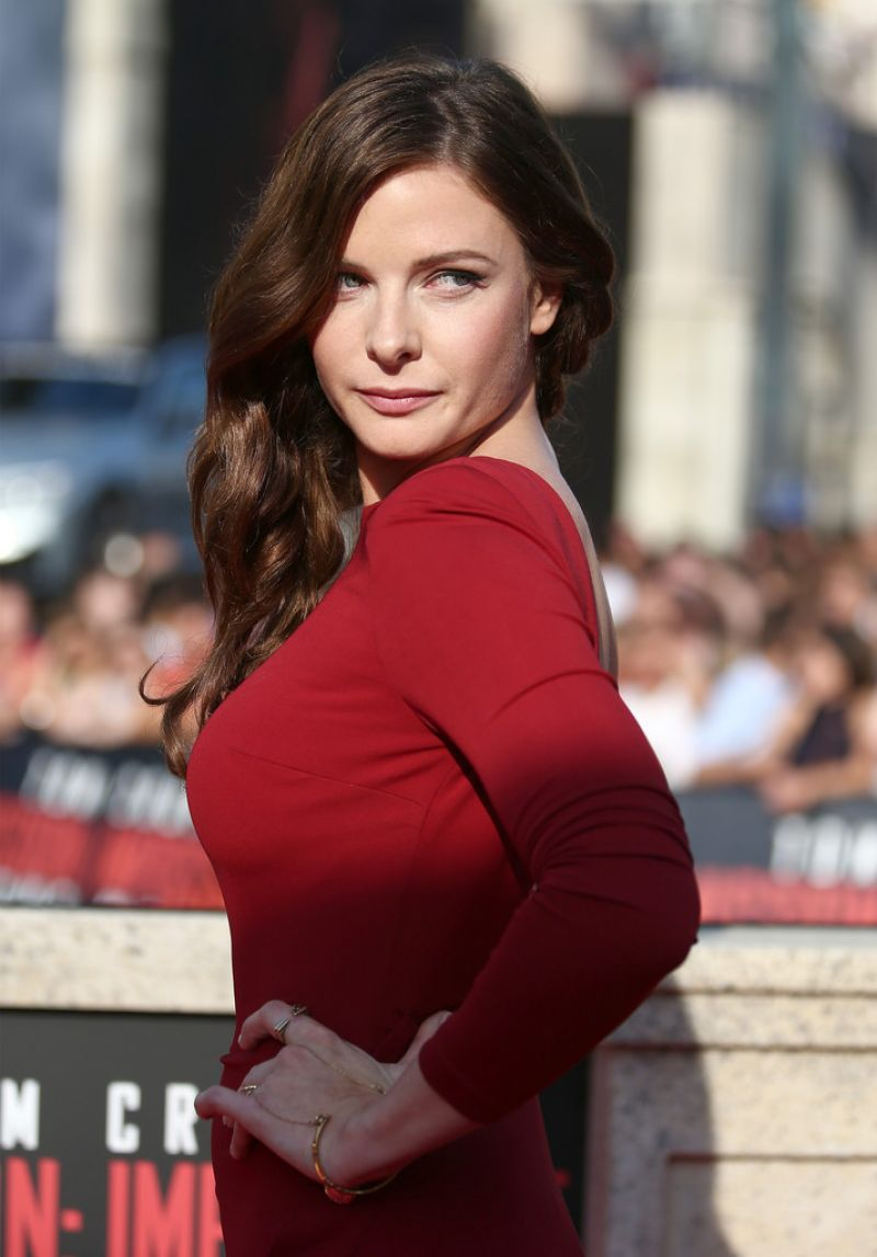 Rebecca Ferguson at Mission Impossible - Rogue Nation World Premiere HD Photos & Wallpapers