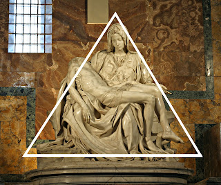 Forma piramidal, Pietà do Michelangelo