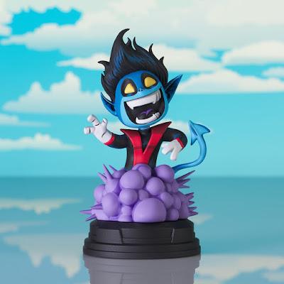 X-Men Nightcrawler Animated Marvel Mini Statue by Skottie Young x Diamond Select Toys x Gentle Giant