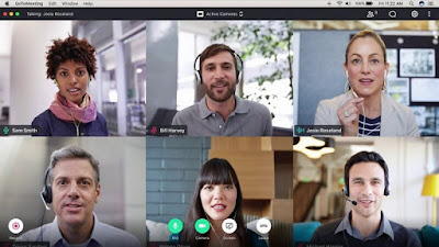 Aplikasi video conference - GoToMeeting