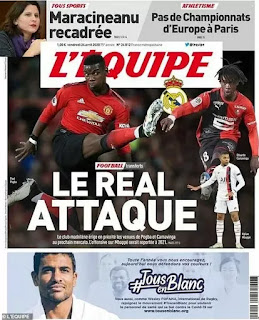 Zidane intent on forcing a deal through for Pogba this summer