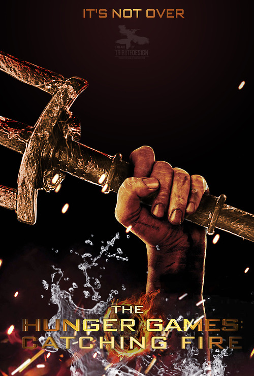 Finnick Odair's Trident Sparks in Epic Fan Made Poster of ...